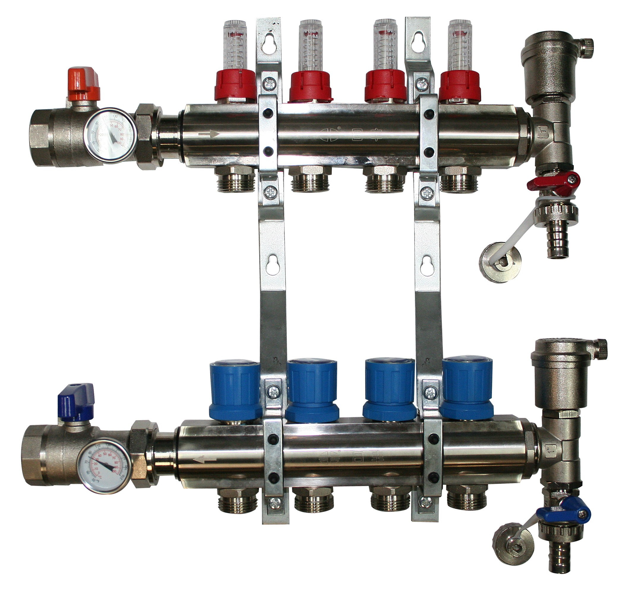 2 Port Underfloor Heating Manifold Rifeng