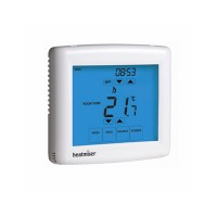 Heatmiser Slimline-NTS 12v Network Touchscreen Programmable Room Thermostat – Slimline-NTS