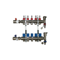 5 Port Underfloor Heating Manifold – Rifeng