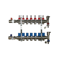 7 Port Underfloor Heating Manifold – Rifeng