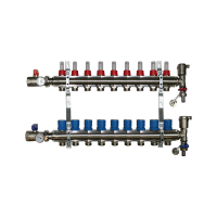9 Port Underfloor Heating Manifold – Rifeng