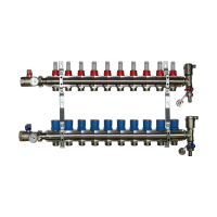 10 Port Underfloor Heating Manifold – Rifeng