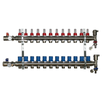 12 Port Underfloor Heating Manifold – Rifeng
