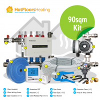 HotFloors 90sqm Kit