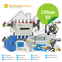 HotFloors 140sqm Kit